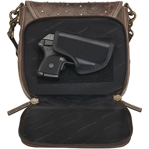 how to conceal a gun in a purse velcro holster comes with purse integrated safe and secure