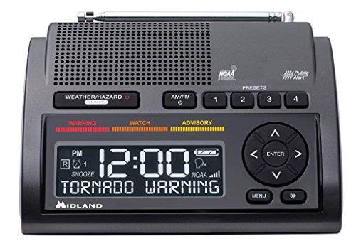Emergency weather alert radio tornado NOAA warning broadcast system stay safe
