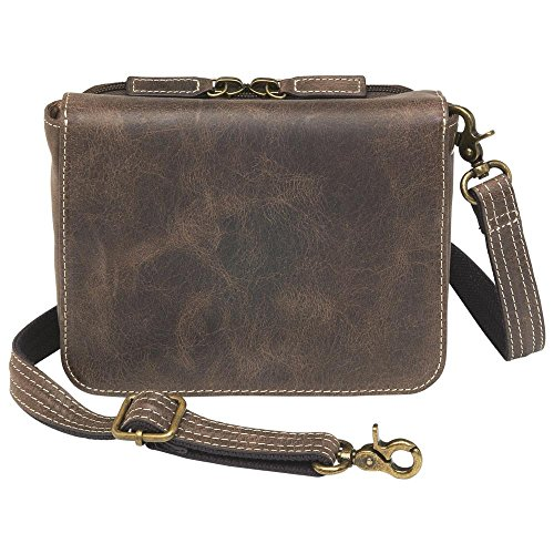 Concealed Carry Purse Crossbody Organizer by Gun Tote'n Mamas small CCW purse