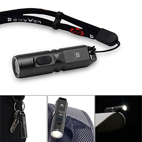 RovyVon Aurora A3 can be attached anywhere cap bag versatile small flashlight