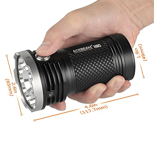 acebeam x80 soda can sized flashlight for when you want to blind someone two counties over