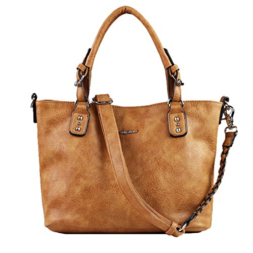 Concealed Carry Purse YKK Locking Ella Braided Concealed Weapon Tote by Lady Conceal