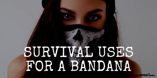 Survival Uses for a Bandana
