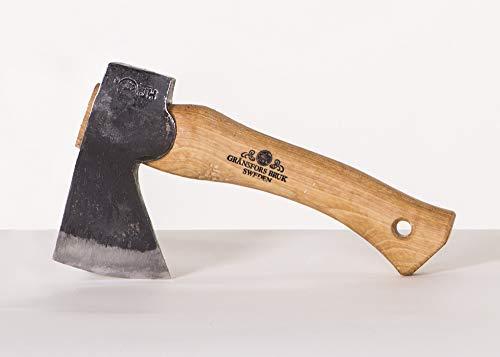 Gransfor bruks hand hatchet how long handle length for hatchet axe chopping felling splitting wood