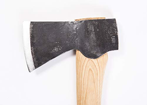 Gränsfors Bruk Scandinavian Forest Axe ax head bit blade close up hand forged steel