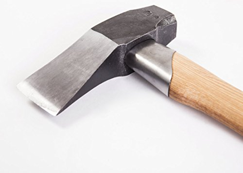 Can you cut down tree with splitting maul axe head how heavy