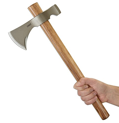 CRKT Woods Chogan Tomahawk hand axe throwing weapon suitable for chopping wood