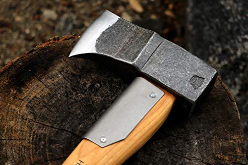 Splitting axe chop split firewood winter camp fire wedge shaped blade