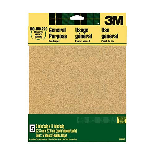 3m general purpose sandpaper to sharpen axe scary sharp assorted grits