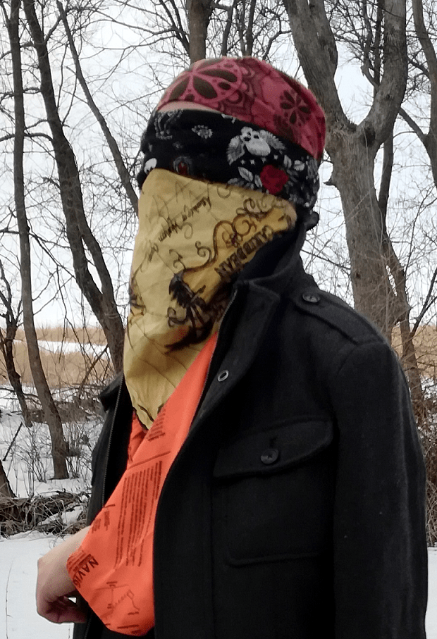 bandana bandanna survival uses protect head eyes nose mouth mask scarf