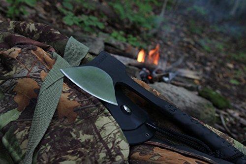 Schrade SCAXE10 stainless survival everyday bushcraft camp hatchet