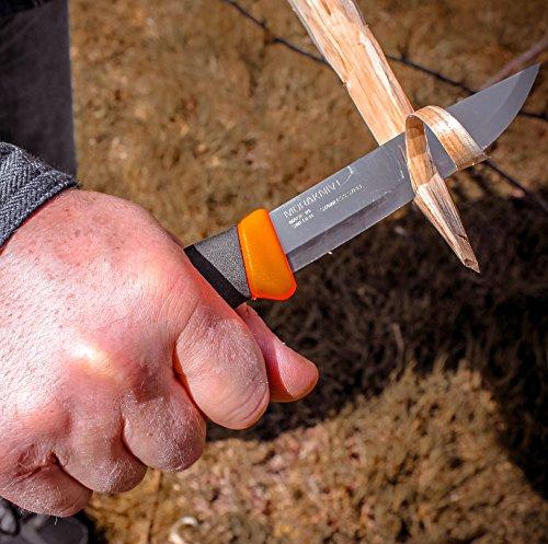 Morakniv companion stainless feather sticks EDC bushcraft knife with axe hatchet
