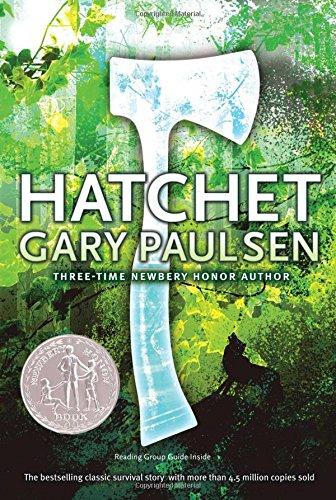Gary Paulsen Hatchet survival story novel not an axe or a tool its a book