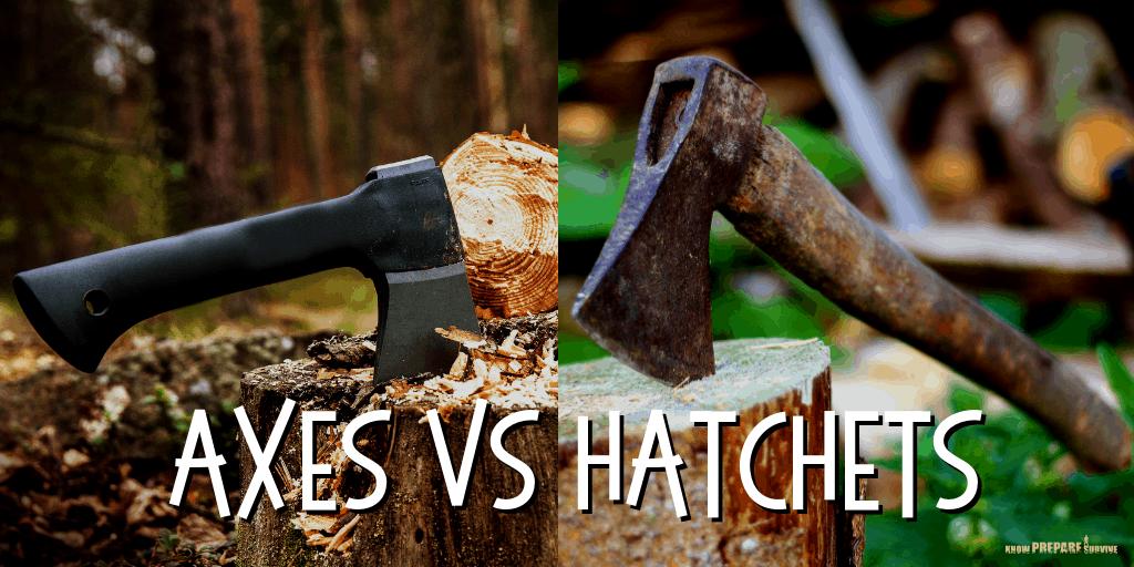 Axes vs Hatchets