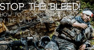 How to Stop Bleeding in the Wild