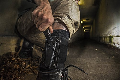 Should you wear knife inside your boot with ankle wrap