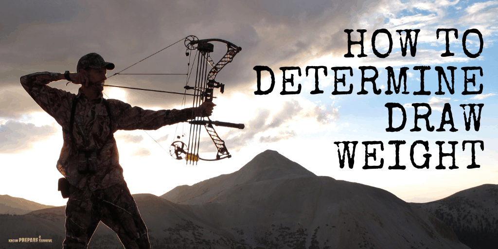 How to Determine Compound Bow Draw Weight