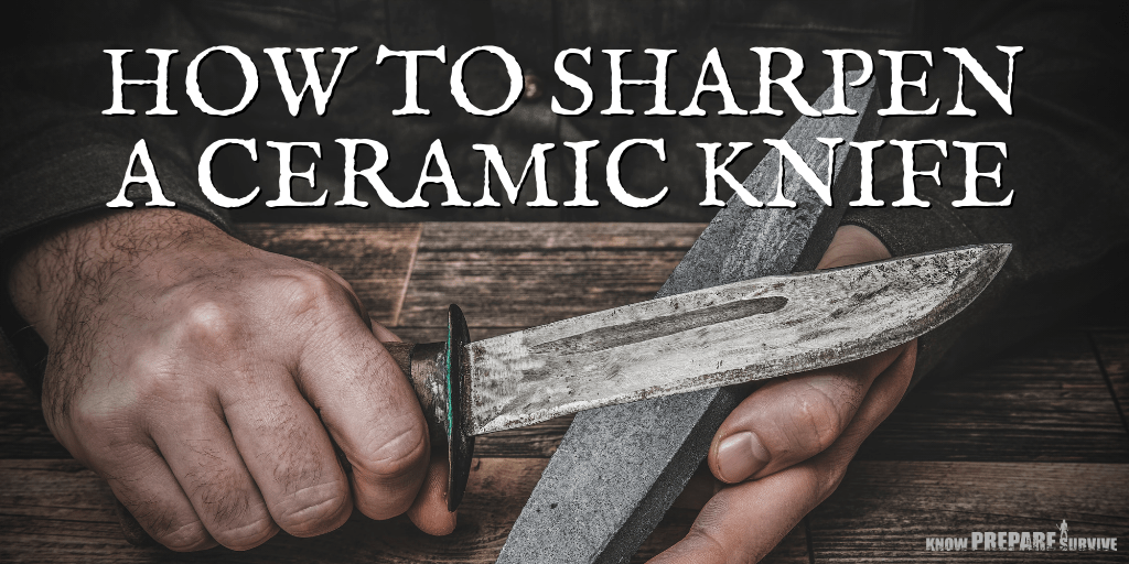 How to Sharpen a Ceramic Knife