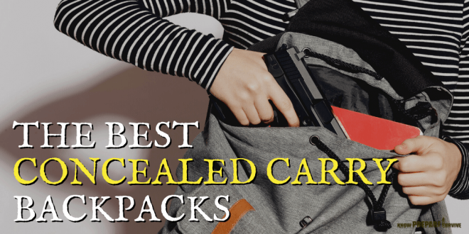 Best Concealed Carry Backpacks for EDC