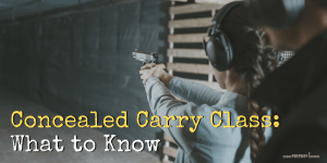 Concealed Carry Class: What to Know