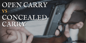 Open Carry vs Concealed Carry: What's the Difference?