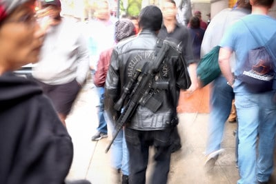 Open carry advantages disadvantages makes you a target easy to see