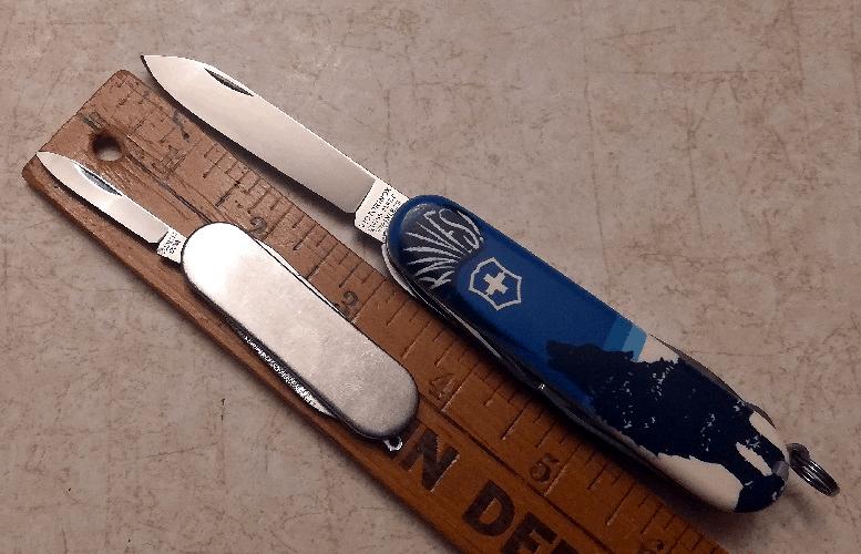 Victorinox Lobo Loco Crazy Wolf Blade HQ Knife Specs Dimensions Blade Length