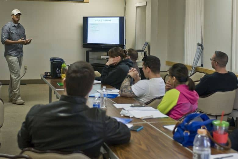 What to expect at concealed carry course classroom learning and range day