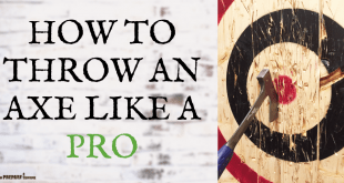 How to Throw an Axe Like a Pro