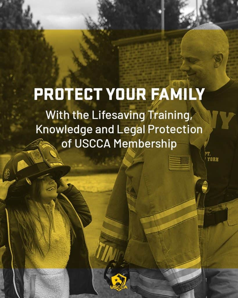 USCCA CCW Insurance Ad - Firefighter