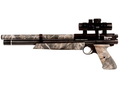 Benjamin Marauder Woods Walker best hunting air pistol camouflage small game
