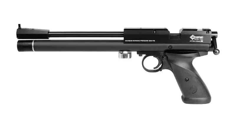 Crosman 1701P Silhoutte most accurate pellet pistol for target shooting