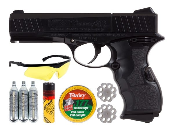 Daisy Powerline 408 best dual ammo BB pellet pistol starter kit
