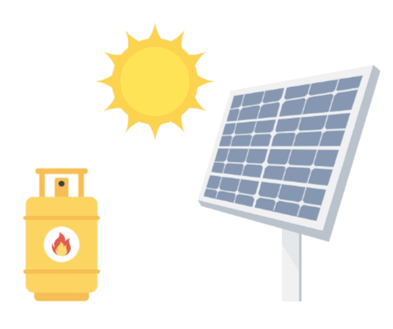 Off grid energy sources