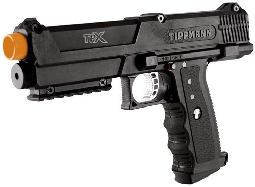 Tippmann TiPX best self defense airsoft pistol paintball gun pepper balls