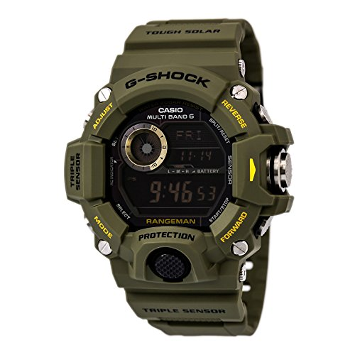 gshock rangeman GW 9400 1CR review