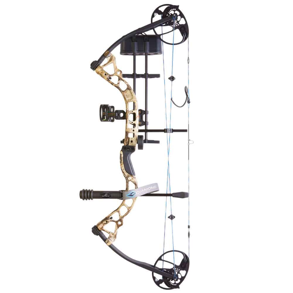 BowTech Diamond Infinite Edge Pro Mossy Oak Compound Bow Package