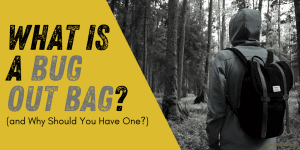 What is a Bug Out Bag and Why Should You Have One