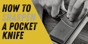 How to Sharpen a Pocket Knife - Like a Swiss Army Knife