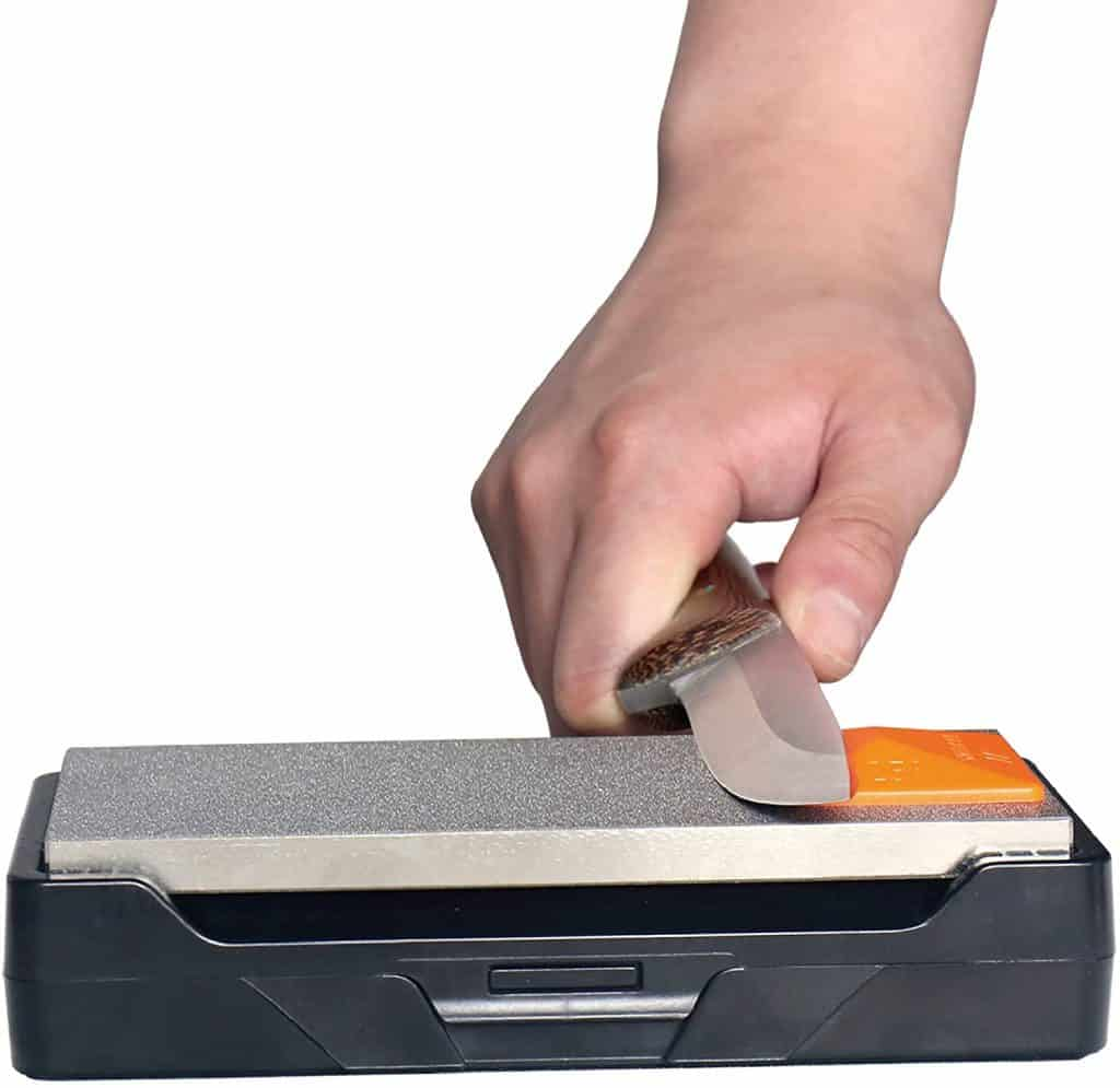 Sharpal pyramid knife sharpening angle guide for whetstones
