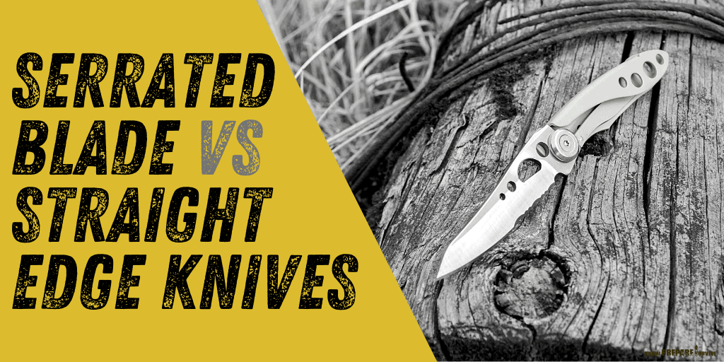 Serrated Blade vs Straight Edge Knives Which Knife Edge is Best