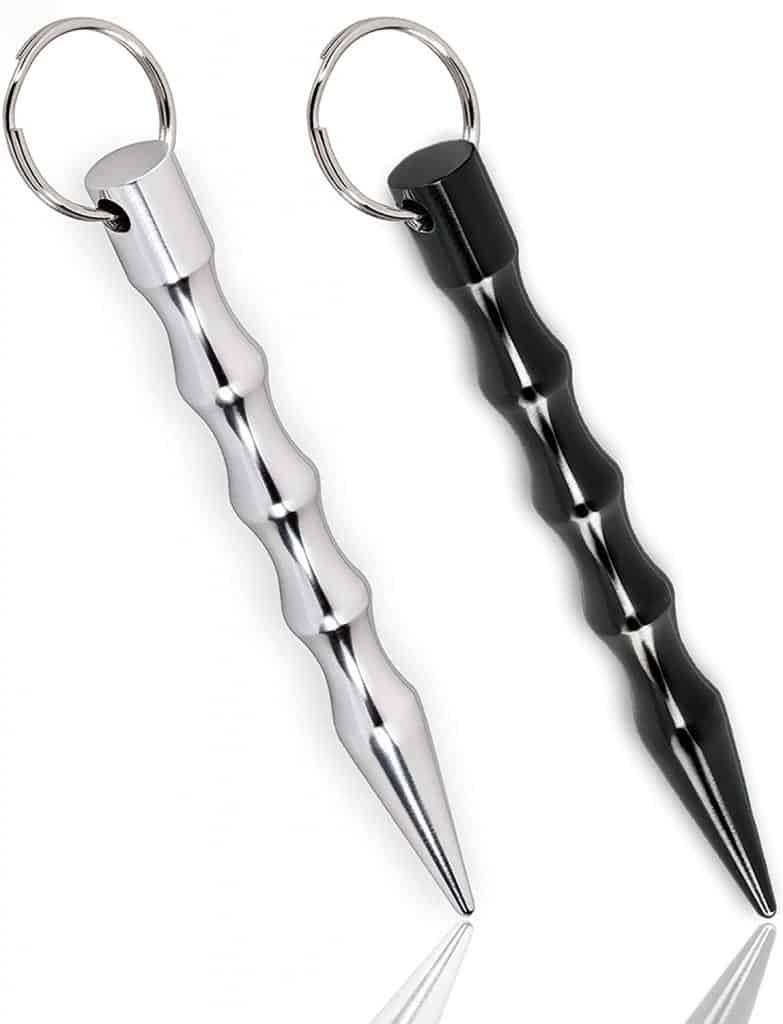 Kubaton metal striking stick self defense for girls pressure point