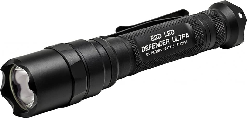 SureFire Defender Series LED Flashlight Strike Bezel great self defense weapon for women